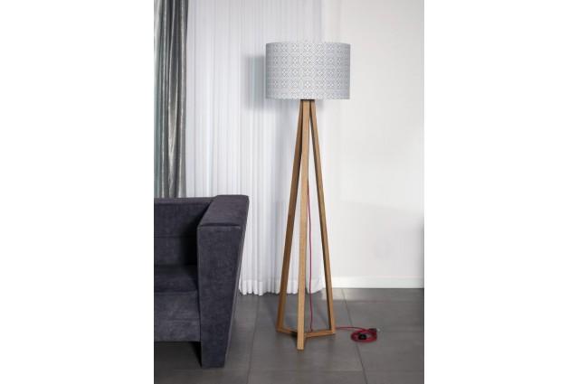 Lampa podłogowa Woodbre