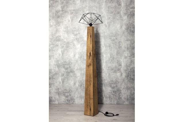 Lampa podłogowa Wood&Steel