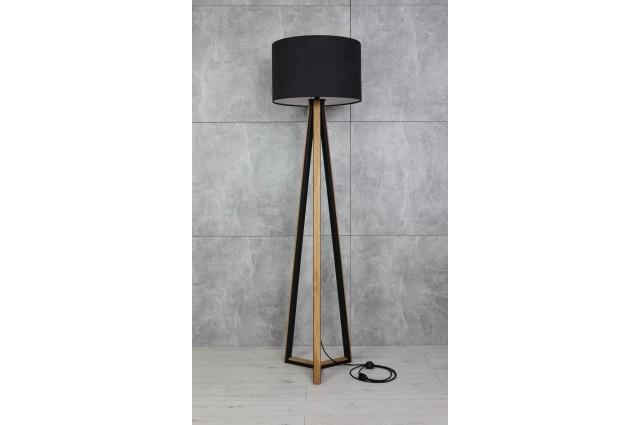 Lampa stojąca podłogowa Wood